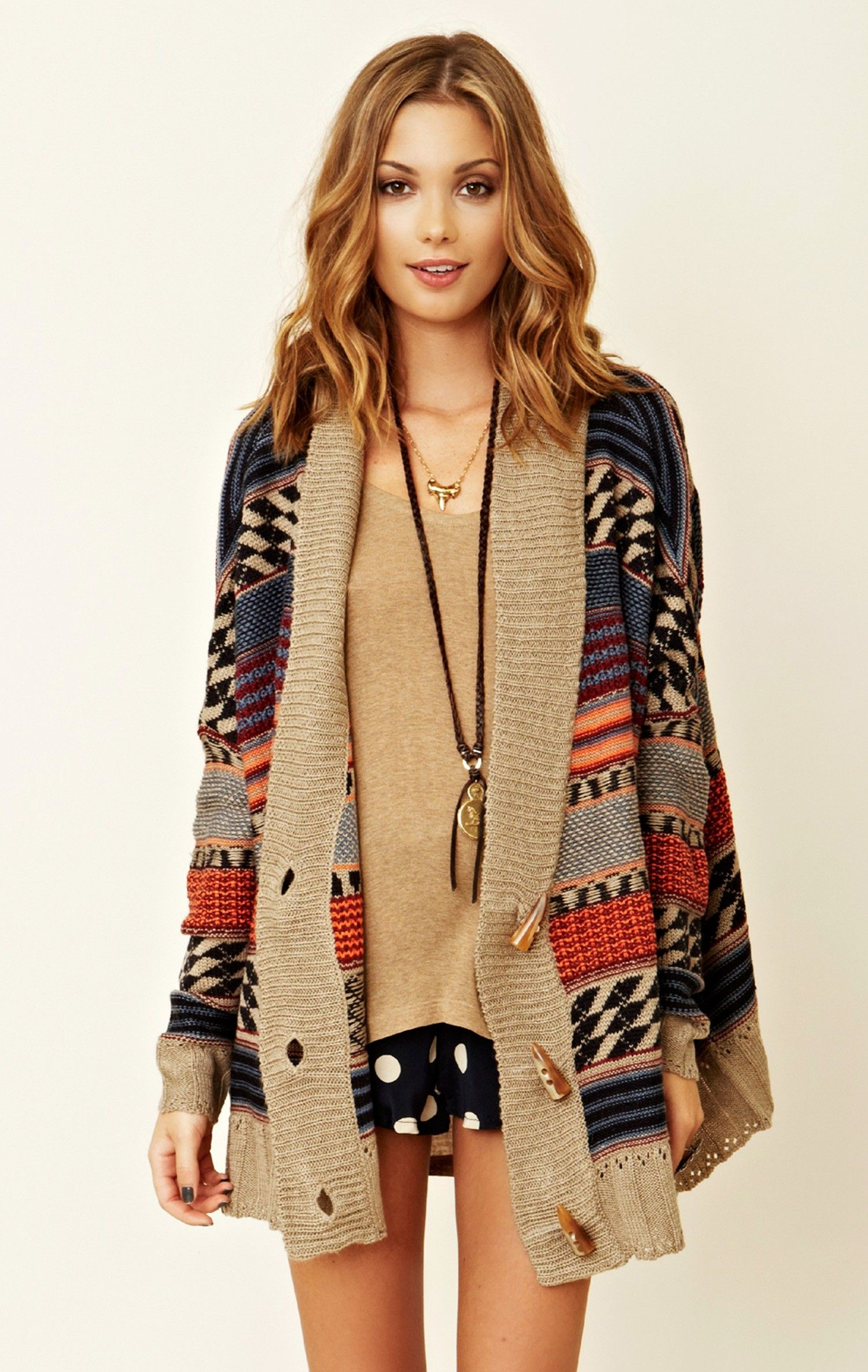 BB Dakota Oversized Cardigan