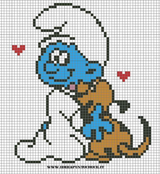 Papa Smurf Crochet Pattern