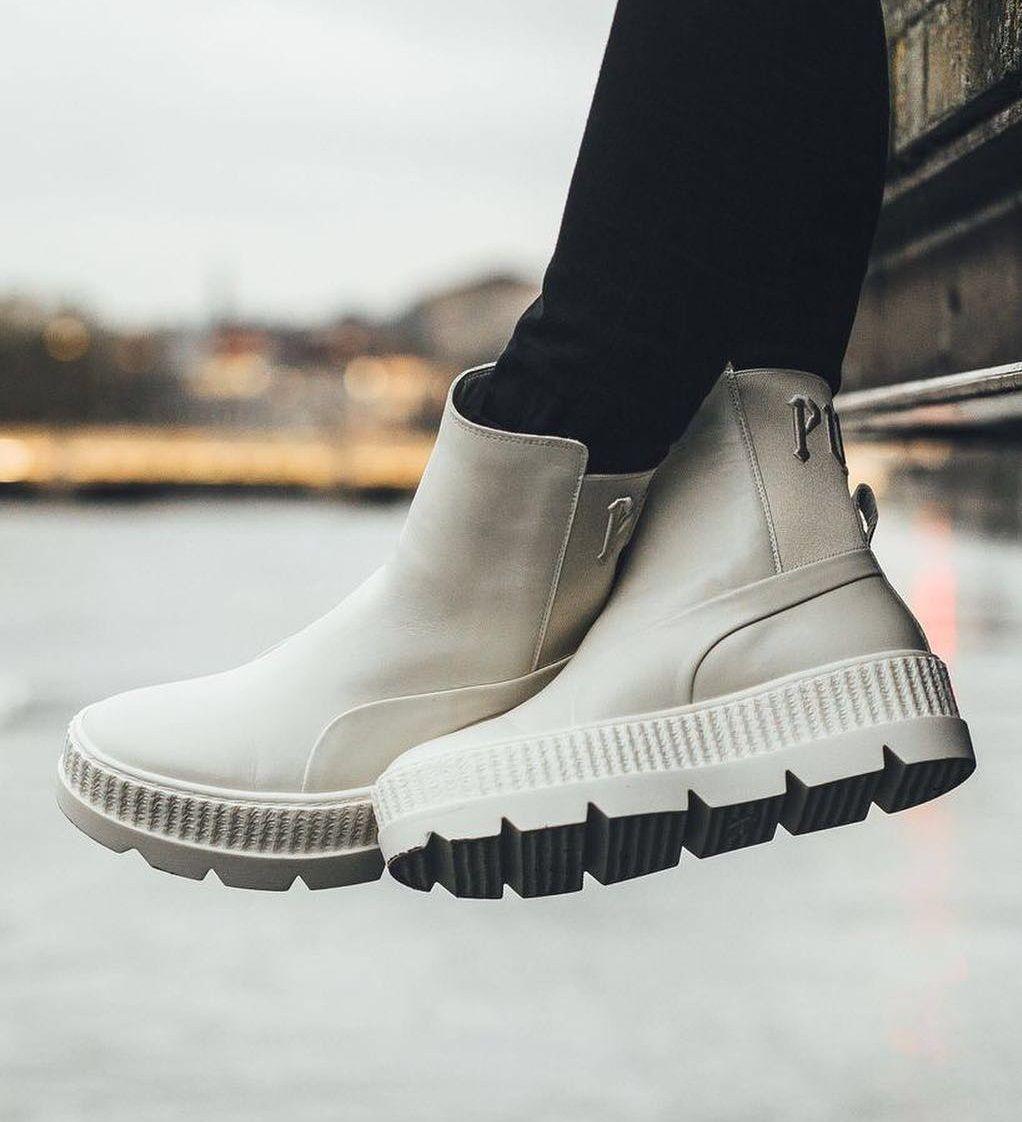 8f08fdcaac9f Rihanna x PUMA Fenty Chelsea Sneaker Boot