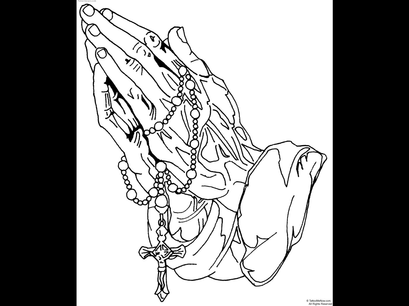 find this pin and more on luiz hands praying - Jesus Praying Hands Coloring Page