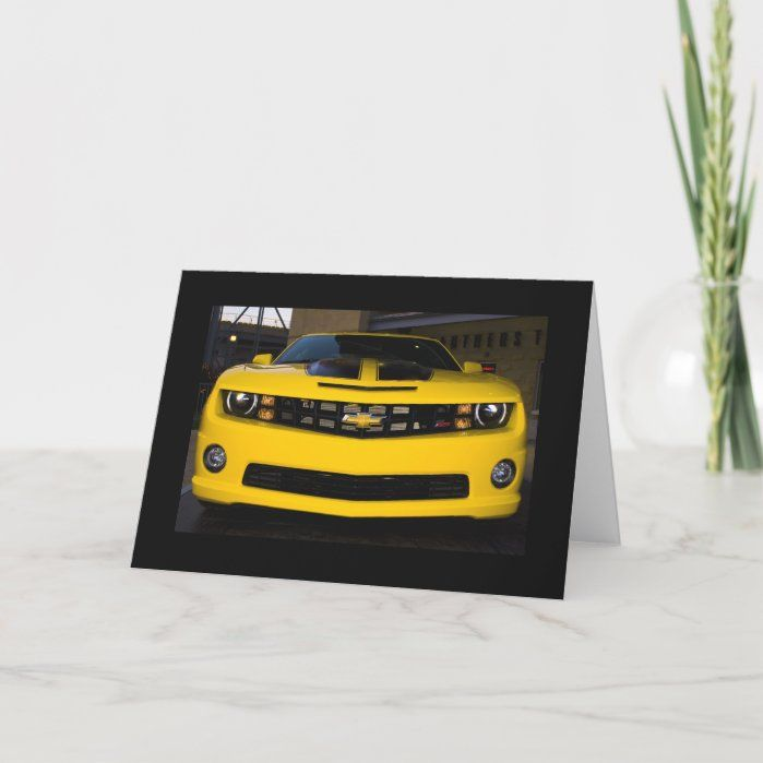 - Black and Rally Yellow 2010 Chevy