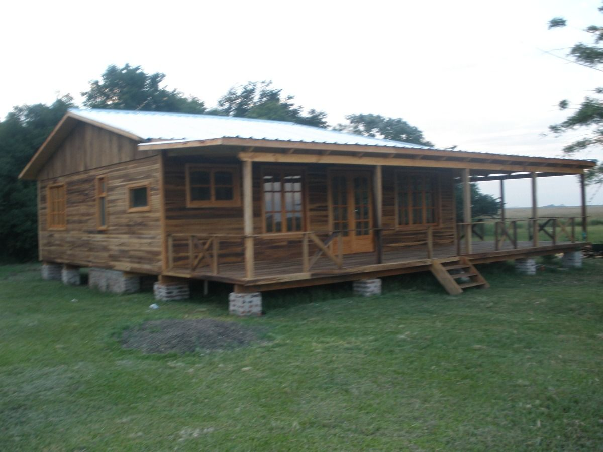 Fabrica de casas y caba a en madera ober en - Madera para casas ...