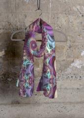 Cashmere Silk Scarf - light mandala by VIDA VIDA 8rONYd