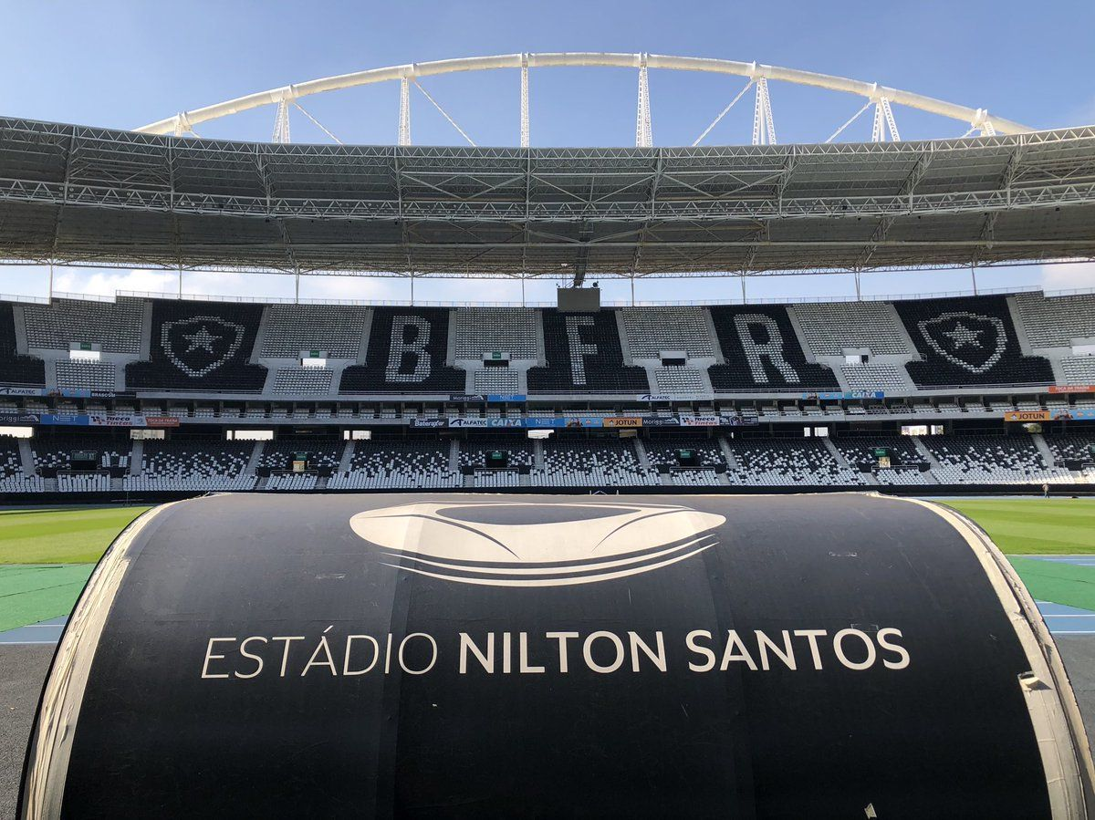 Estadio Nilton Santos Botafogo F R Com Imagens Botafogo