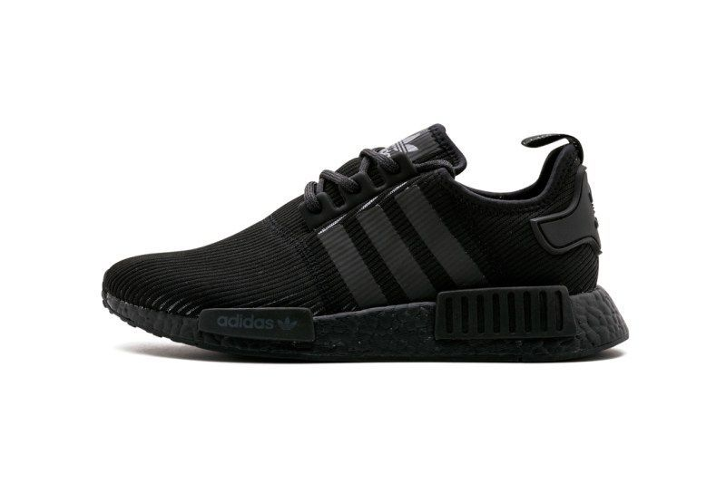 86498ddc5bb34 The adidas NMD R1 Switches up Its Triple Black Motif