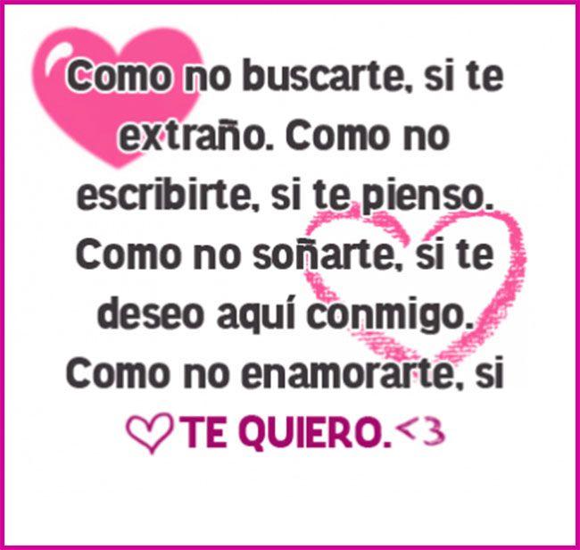 Frases De Amor Para Mi Novio Te Extrano Cristal Pinterest