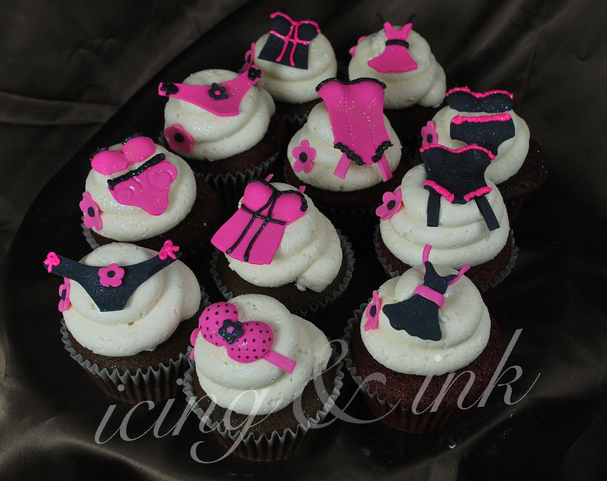 cupcake recipes for bridal shower%0A bachelorette cupcakes  Wedding Shower