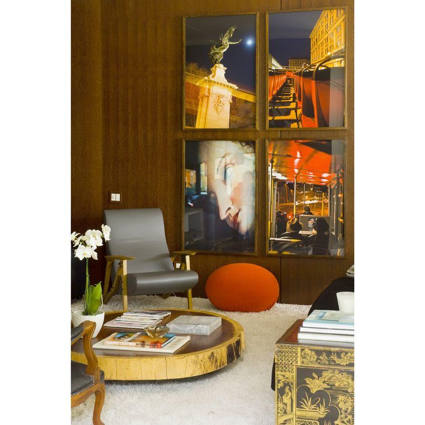 Residência BP - Poltrona Pucci MiCasa, Sofá , poltronas e mesa de centro Firma Casa, Mesa de jantar Jaqueline Terpins, Cadeiras Firma Casa,...
