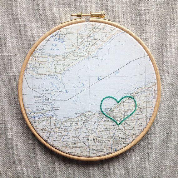 Heart around where you met! Aww