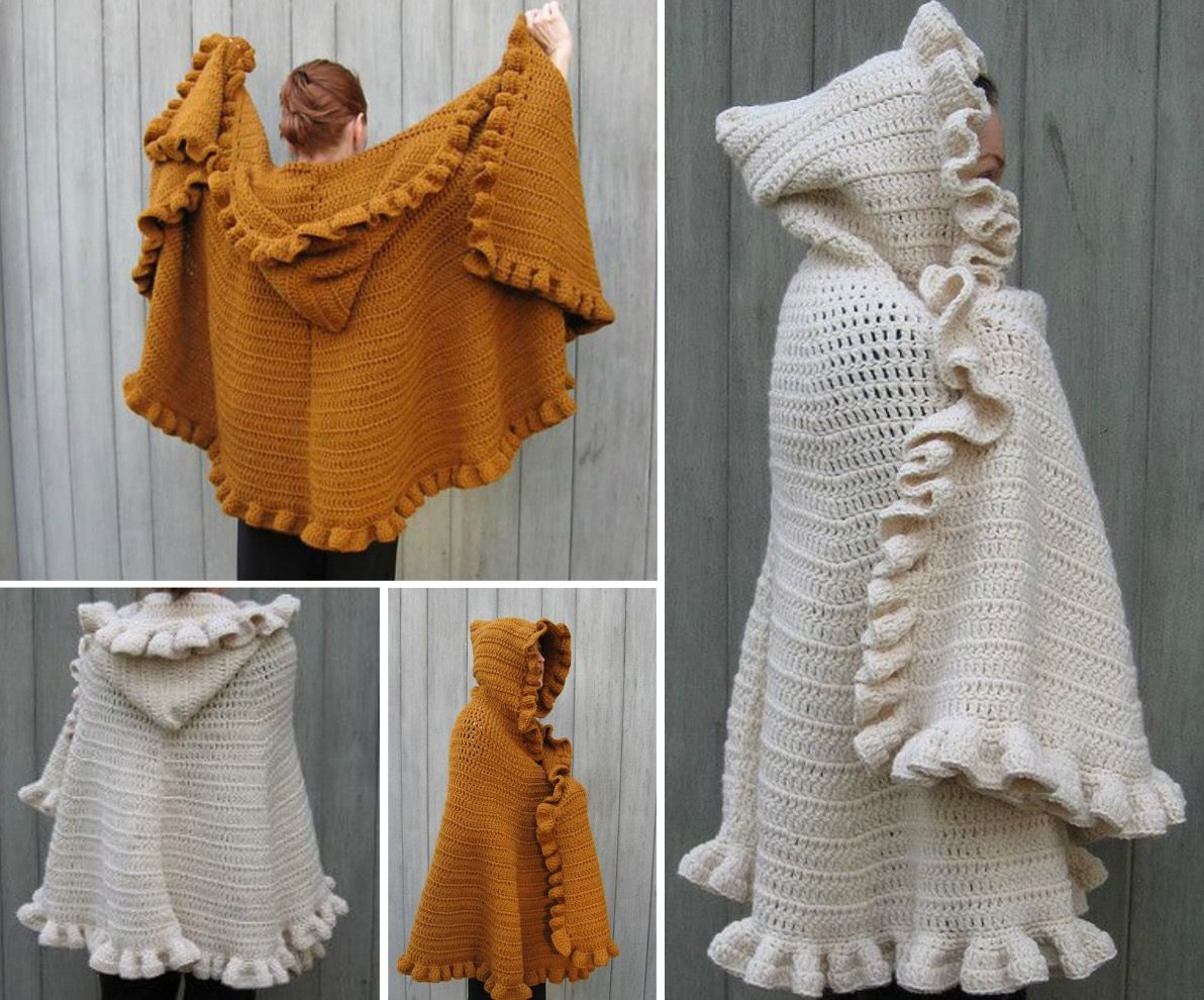 Hooded cape crochet pattern free you will love this stunner hooded cape crochet pattern free you will love this stunner bankloansurffo Choice Image