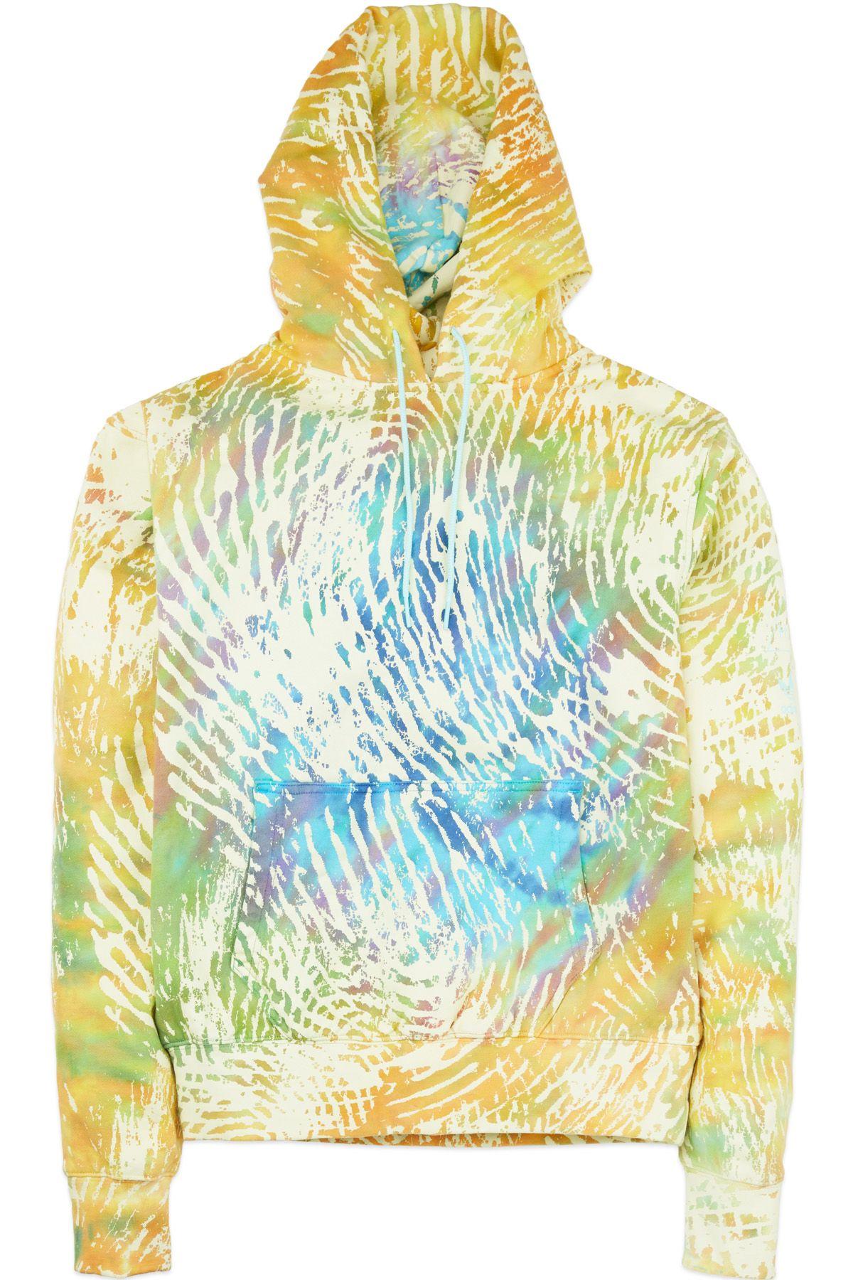 Kendall Kylie Womens Deconstructed Terry Sweatshirt
