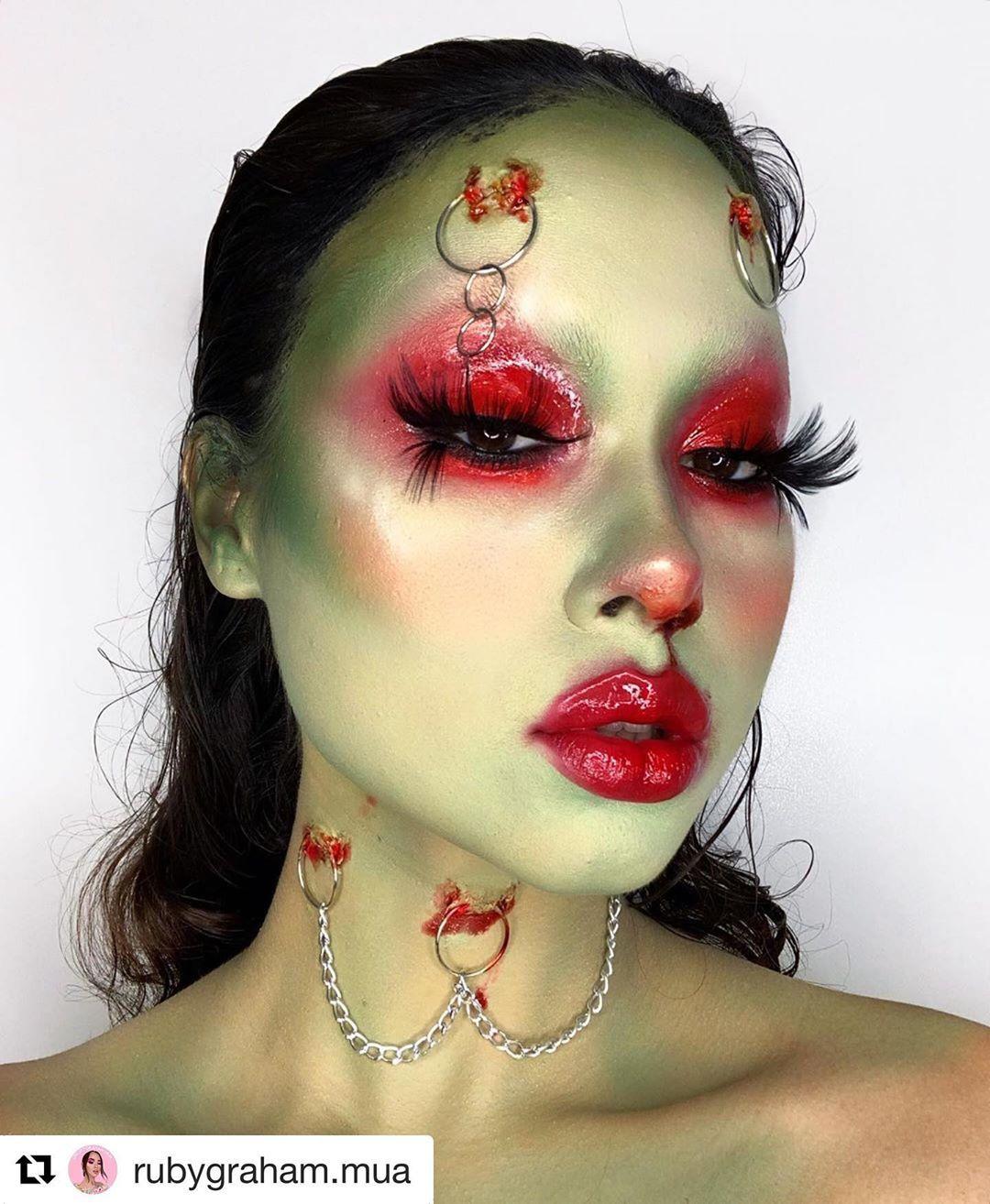 30 Best Halloween Makeup Ideas on Instagram in 2019 Cool
