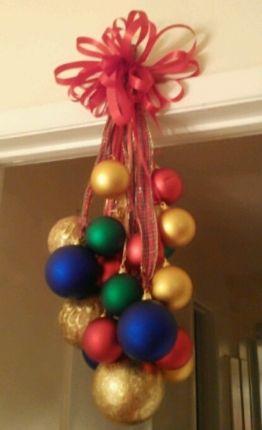 Enfeites de natal 10 ideias para colocar em pr tica - Bolas de navidad grandes ...
