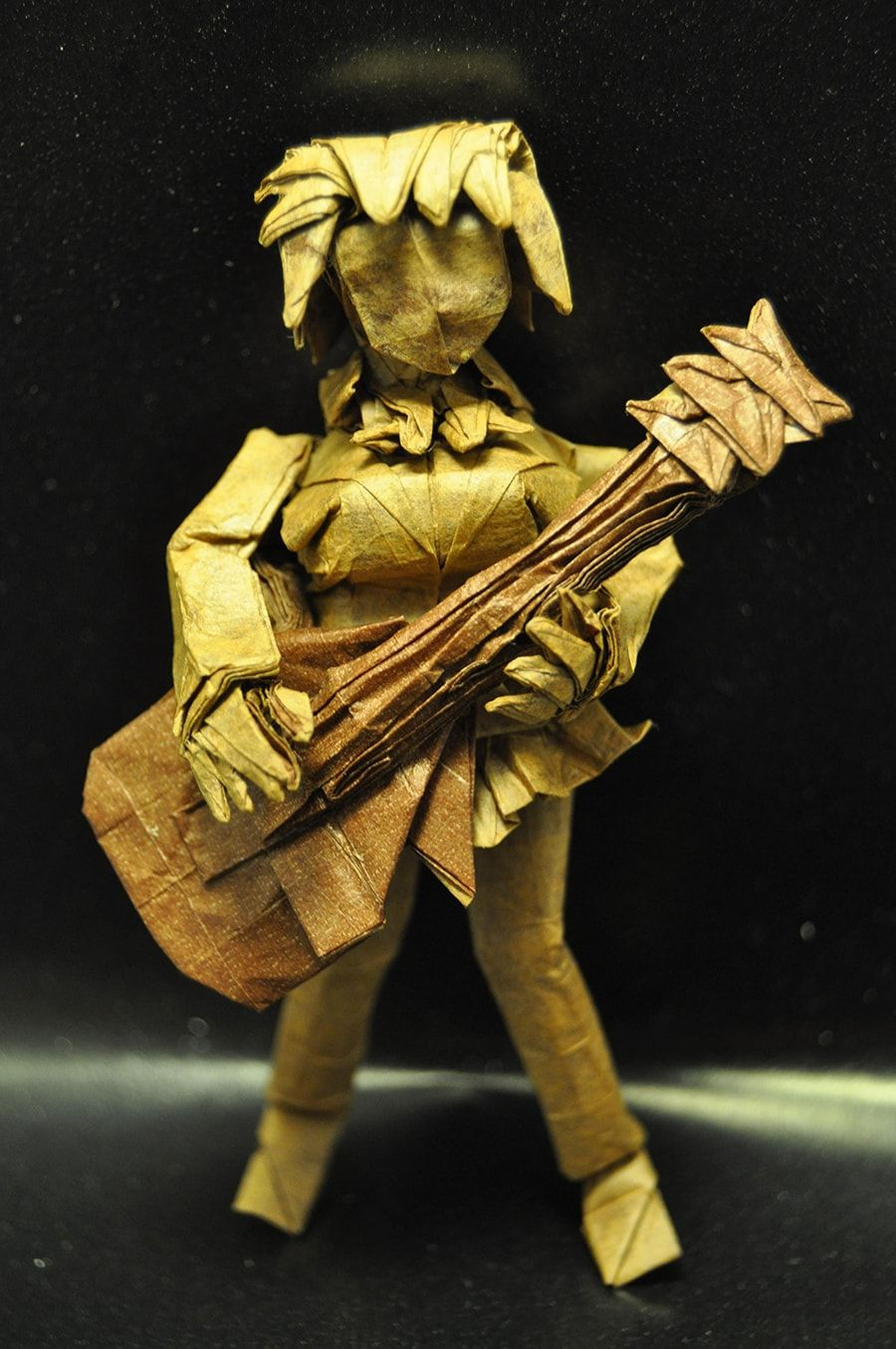 25 Incredible Japanese Anime Characters in Origami Form in