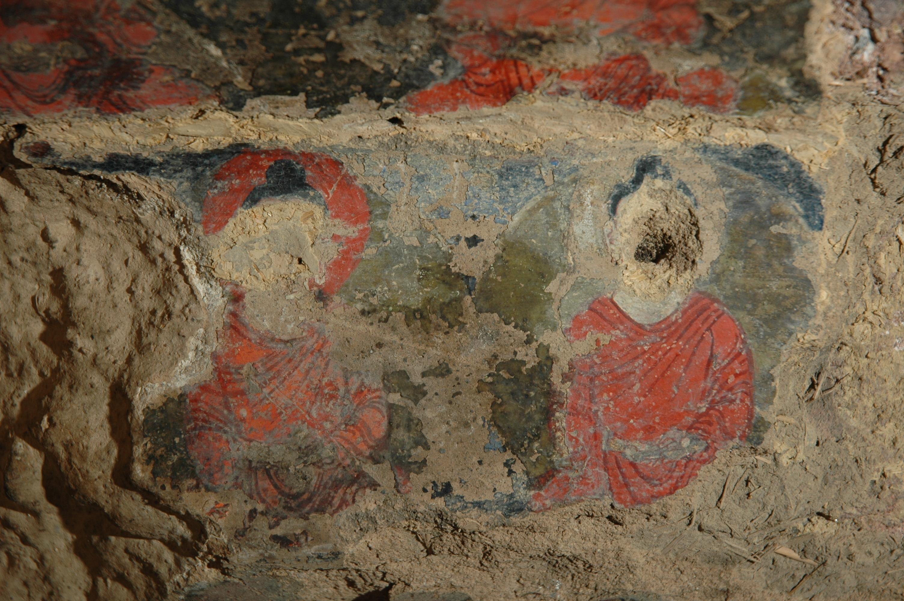 Bamyan in afghanistan predating european oil painting by