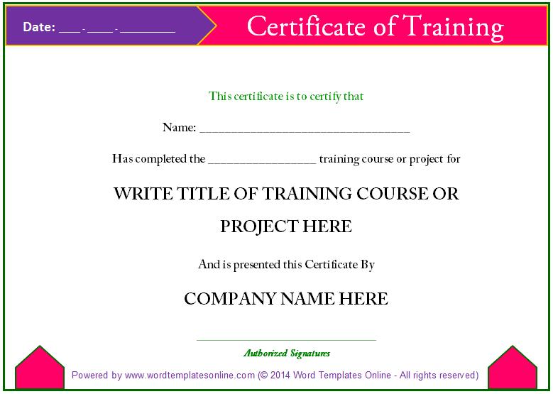 Training Certification Template Fake Adoption Certificate – Certification Templates