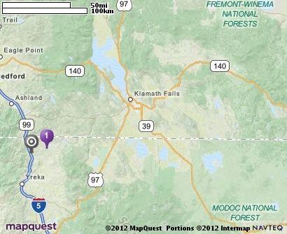 Iron Gate Dam In Hornbrook California MapQuest Where I Want - Mapquest california