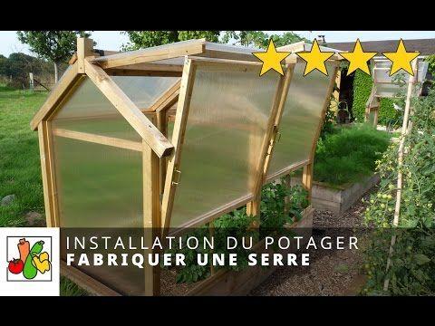 Réalisez une serre en bois ultra résistante et démontable de 10m² ...