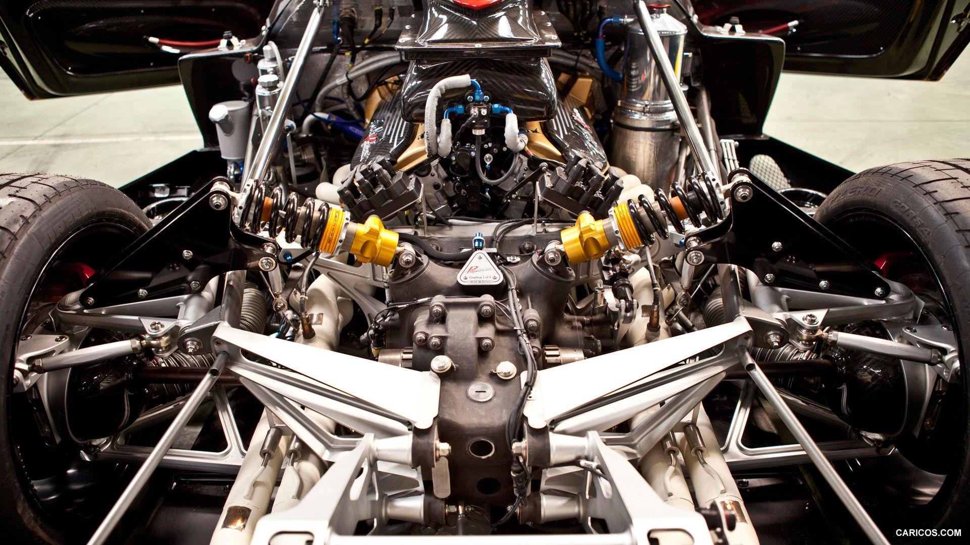 2013 Pagani Zonda Revolucion - Engine, 1920x1080, #25 of 33 ...