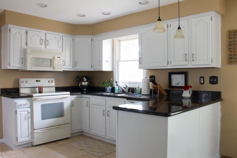 How To Paint Oak Cabinets White  Painted Oak Cabinets Kitchens Beauteous How To Paint Kitchen Cabinets White Design Decoration