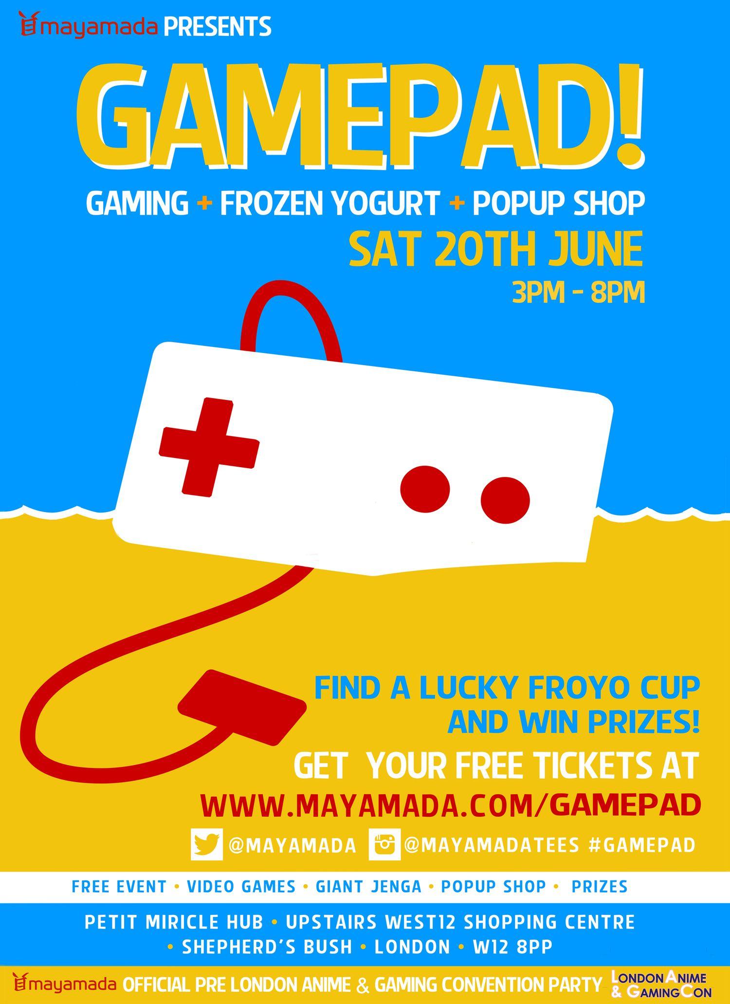 Gamepad + Froyo Event - June...