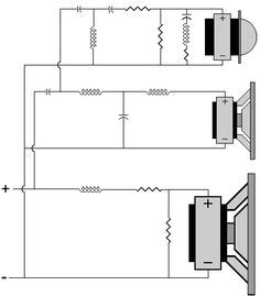 Complete Crossover Diagram Example | Subwoofer box design ... on klipsch reference wiring diagram, jbl wiring diagram, 6 pin din cable connection diagram, infinity dual voice coil wiring diagram, speakers wiring diagram, schematic circuit diagram, klipsch vf 35 tower speaker, klipsch synergy diagram 12, klipsch promedia 2 1 power switch, 5 channel amp wiring diagram, 2 channel amp wiring diagram, sub woofer wiring diagram, klipsch 2 1 sub woofer pin out,