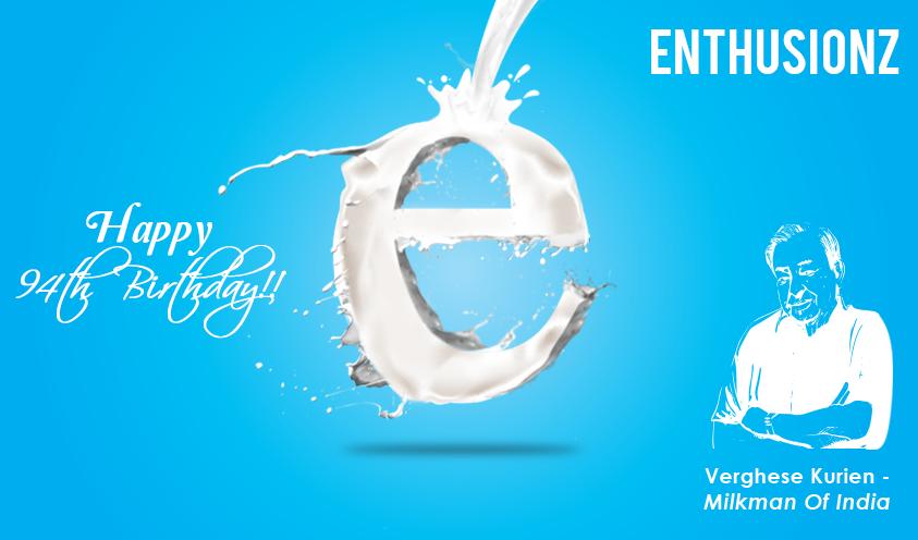 Tribute To The Milkman Of India Dr Kurien Digital Media Marketing Company In Bangalor Digital Media Marketing Creative Labs Digital Marketing Company