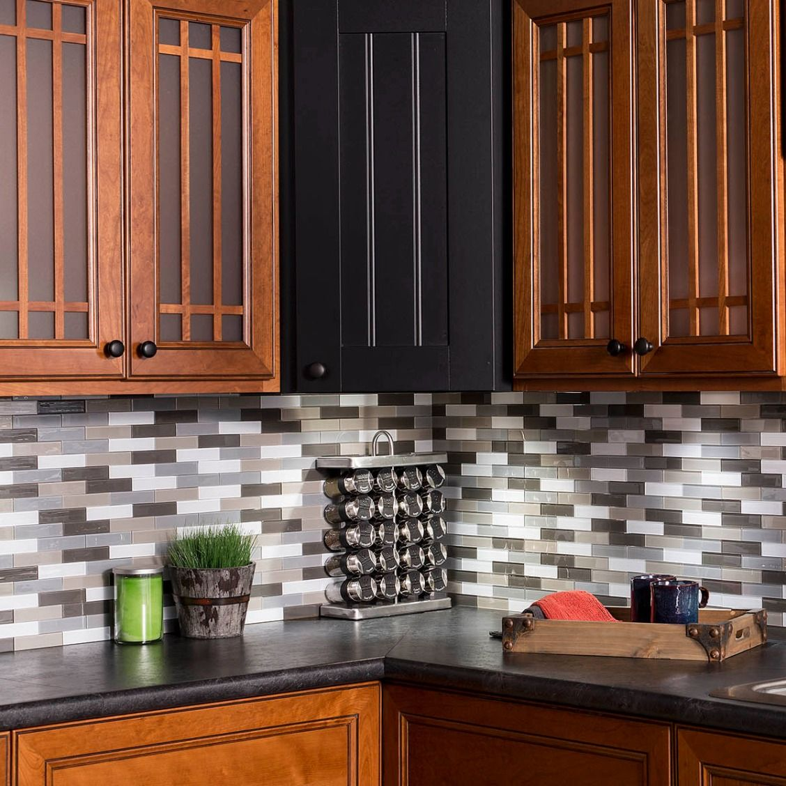 Update your kitchen the DIY way with Aspect 12'' x 4