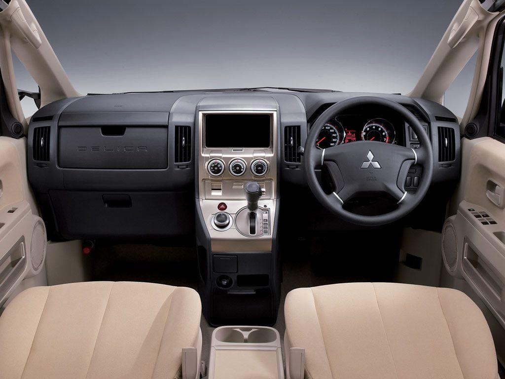 Mitsubishi delica interior