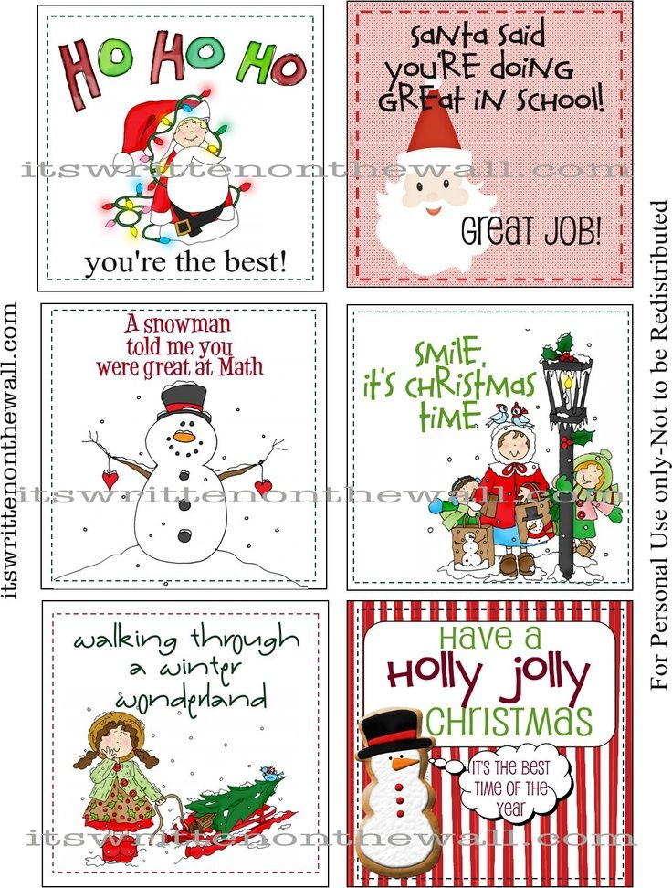 Its Written On The Wall Freebie Our  Christmas Lunchbox Notes Here Get Your Free Set