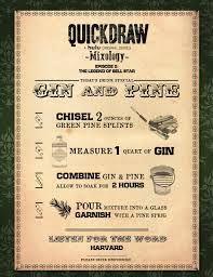 Mixology Quick draw on hulu Gin & Pine