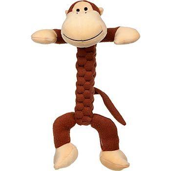 Kong Braidz Monkey Dog Toy Super I M Thinking We Could Play