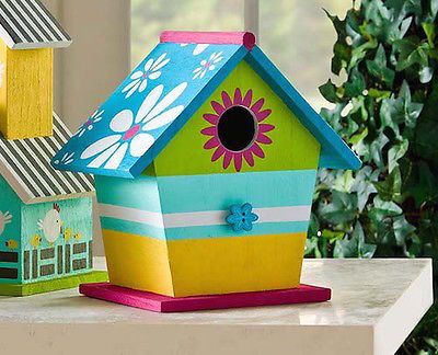 10 Fun Ways to Decorate Wood Birdhouses & 10 Fun Ways to Decorate Wood Birdhouses   Birdhouse Birdhouse ideas ...