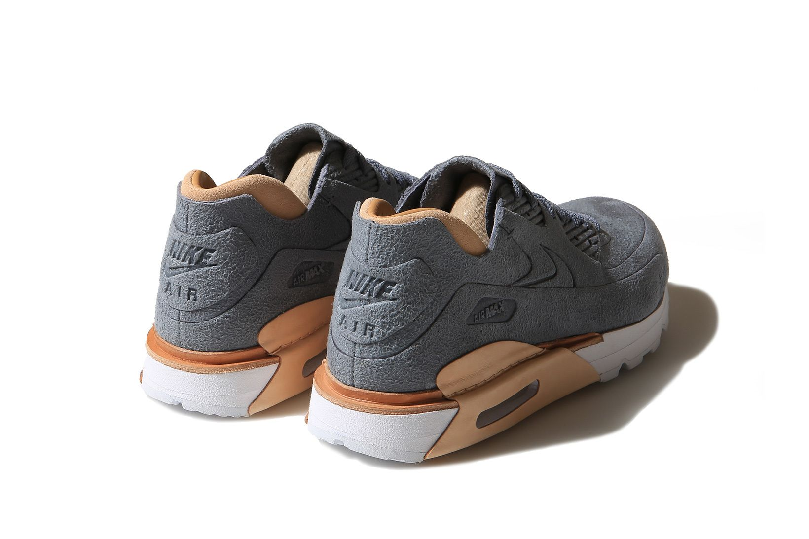 14c8bc07e4 The Classic Nike Air Max 90 Gets a Luxurious Suede Makeover | Kicks ...