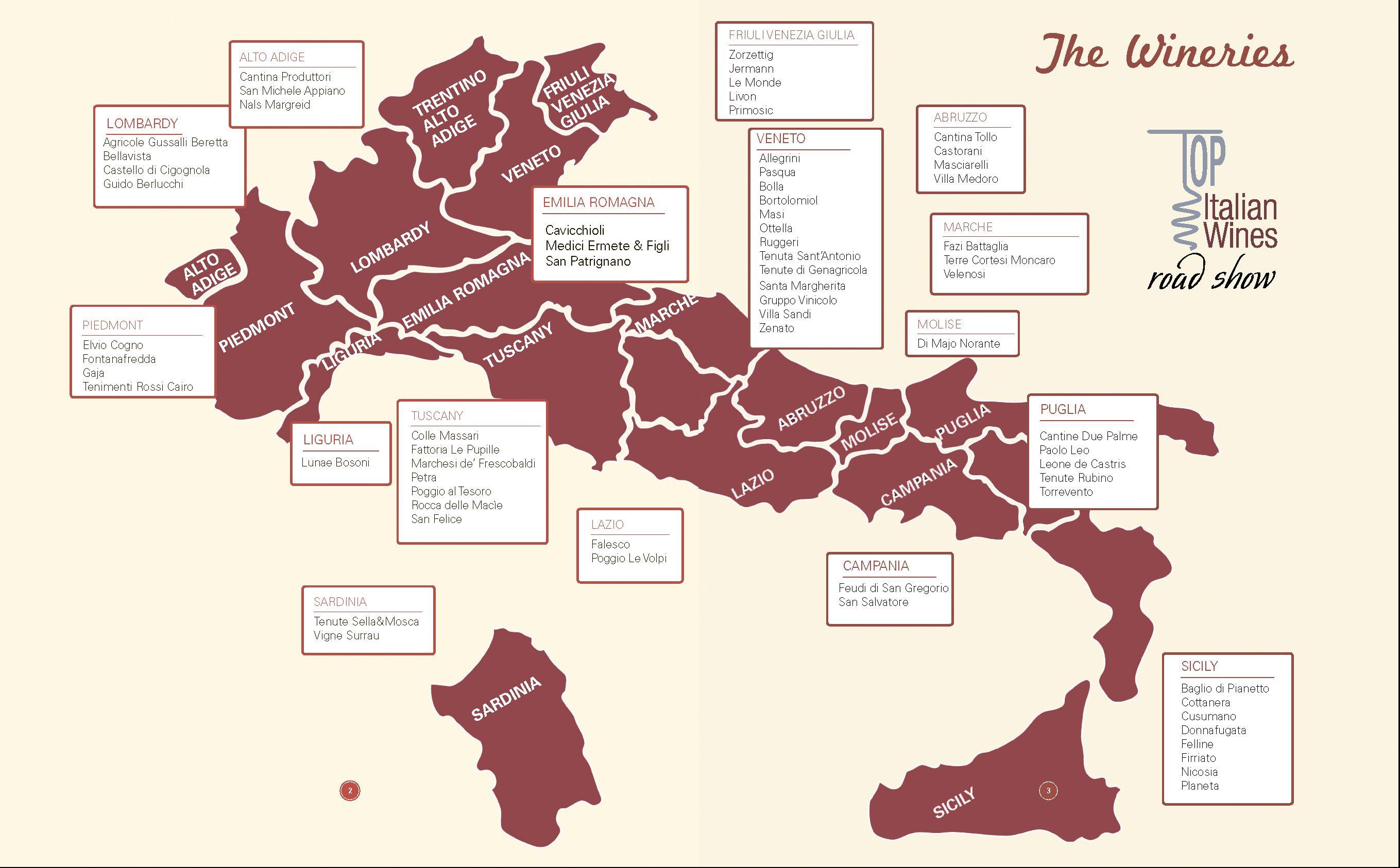Top Italian Wines Road Show