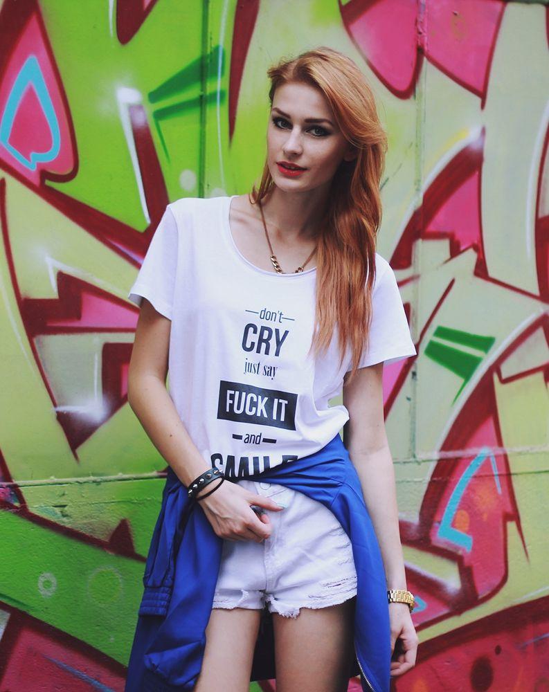 Stylizacja White & blue dodana przez blogerkę modową katarzyna.konderak