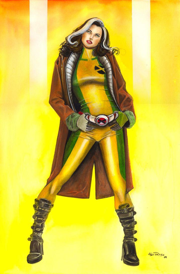 Rogue Of The X Men Superhero Female Superhero Best Superhero