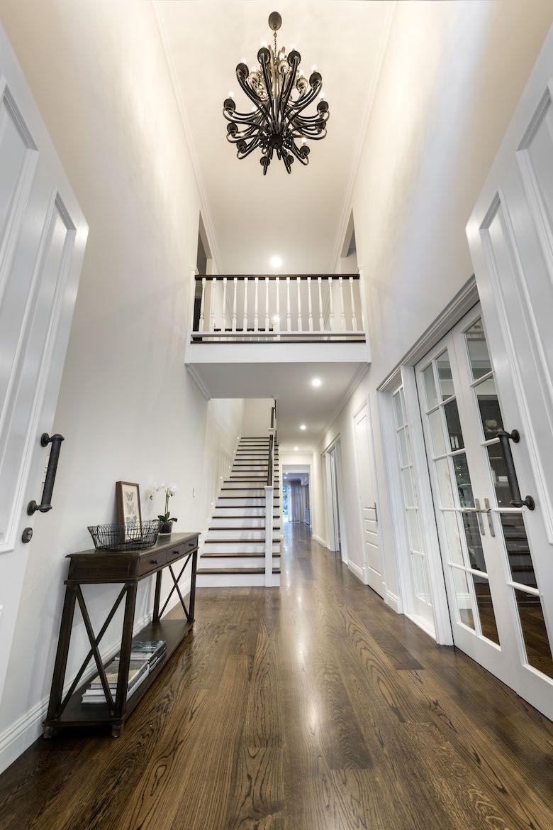 Hamptons Custom Home in Applecross - Oswald Homes | hallway ideas ...