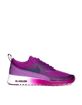 Image 1 of Nike Air Max Thea PRM Purple Trainers | Nike air