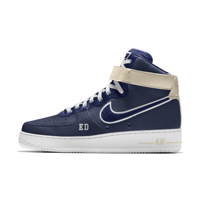 Chaussure Nike Air Force 1 High Premium iD montante pour Homme ...
