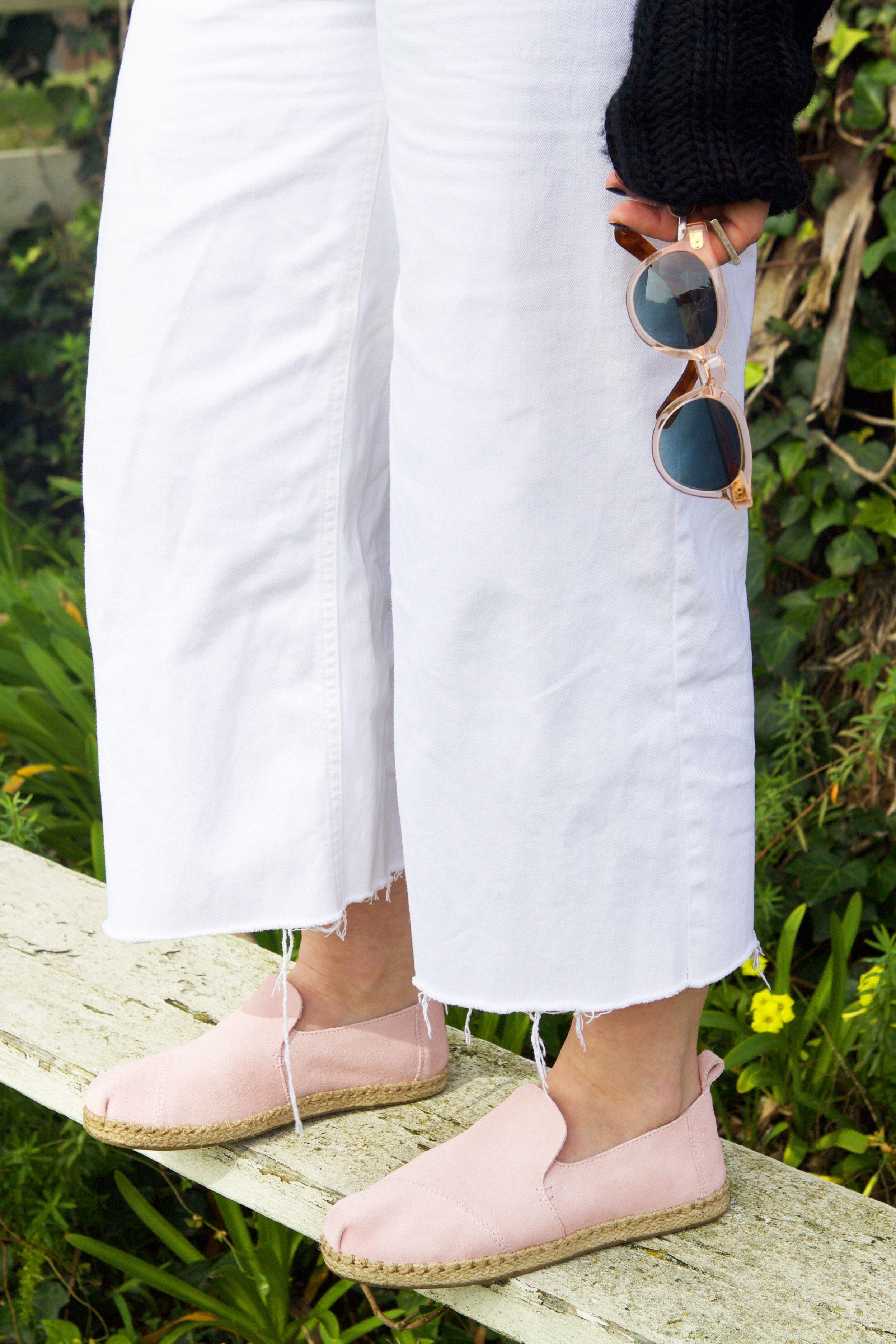 Women's sandals with removable insoles - Pale Pink Suede Women S Deconstructed Alpargatas