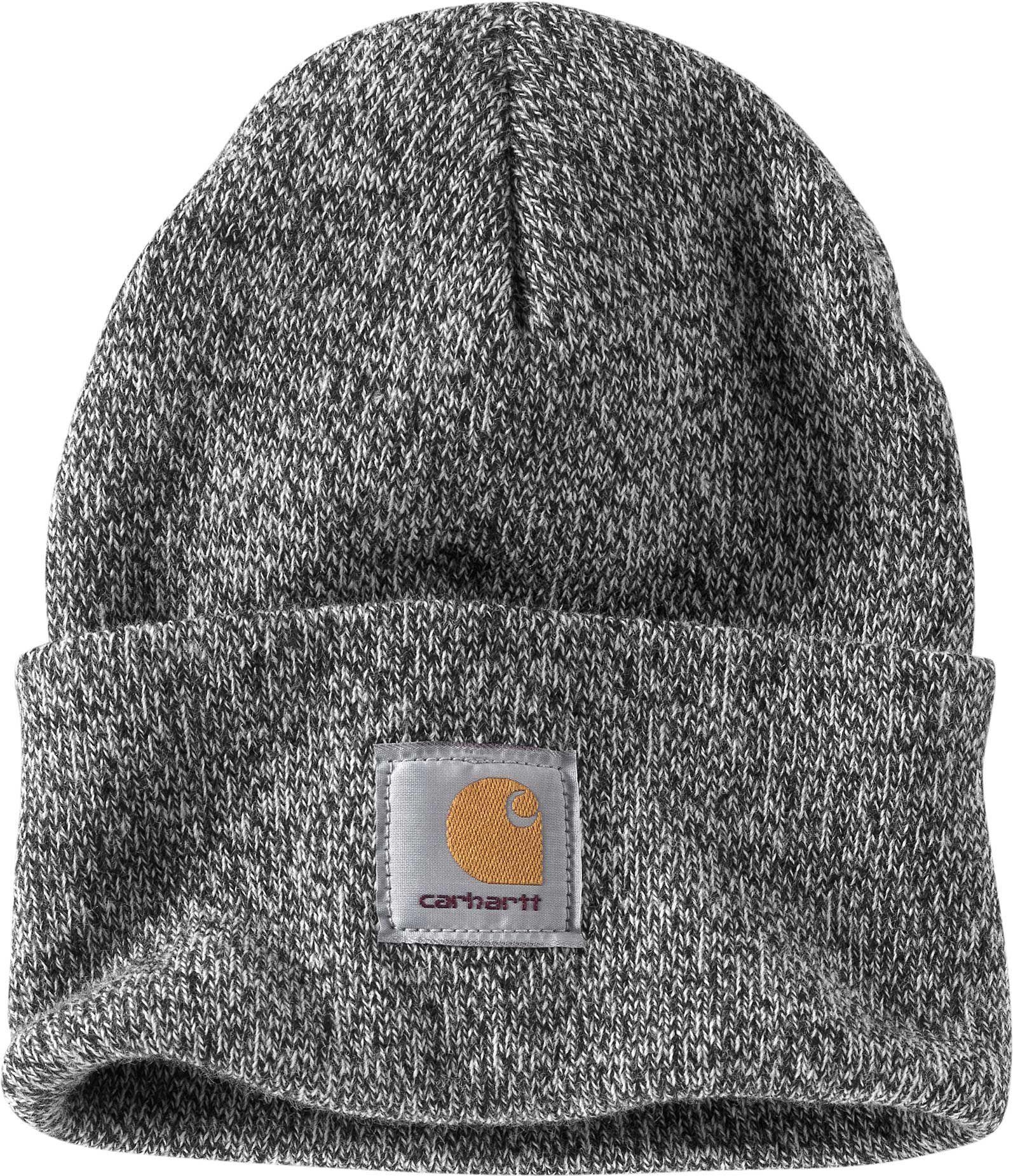 CARHARTT WIP Scott Watch Hat bonnet à revert Black   Snow beanie ... 127de66ccc80