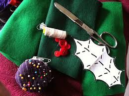 Image result for make fabric holly