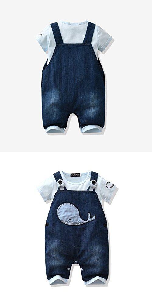 93c2fffae LvYinLi US Baby Boy Clothes Boys' Romper Jumpsuit Overalls Stripe ...