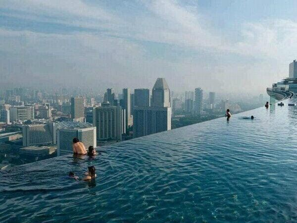 The world 39 s highest swimming pool is located in the - Tallest swimming pool in the world ...