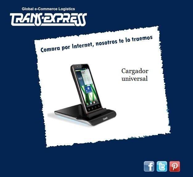 ¿Que te parece este excelente cargador universal para tu ipad, iphone u otros?  http://amzn.com/B007FEAF0E