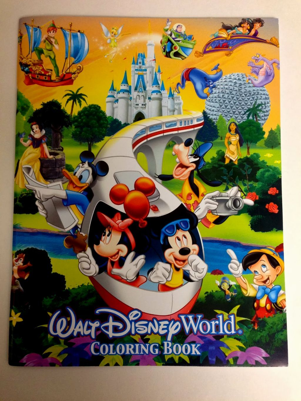 Disney World Coloring Book | Coloring Pages | Pinterest | Coloring books