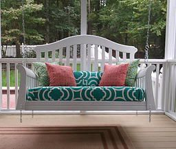 Old Crib Upcycled Into Porch Swing K Mayzing Swings In