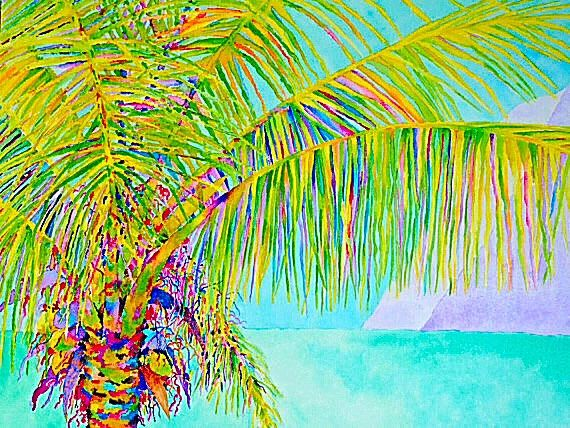 The Palm 2 - Canvas