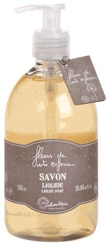Savon liquide Véritable savon liquide de Marseille parfumé au subtil mélange de fleurs sauvages www.boutique-lothantique.com